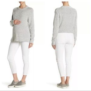 Seven7 Maternity Over the Belly Skinny Jeans